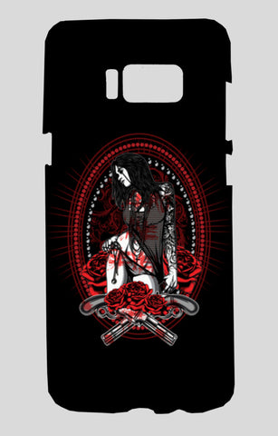 Woman With Tattooed Hand Samsung Galaxy S8 Cases | Artist : Inderpreet Singh