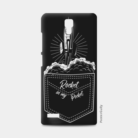 rocket in my pocket Redmi Note Cases | Artist : Himanshu Sood