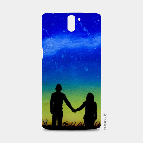 Sunset Love Painting One Plus One Cases | Artist : Rahul Tanwar