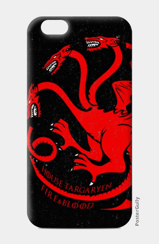 iPhone 6/6S Cases, House Targaryen - Game Of Thrones iPhone 6/6S Cases | Artist : Gurmeet, - PosterGully