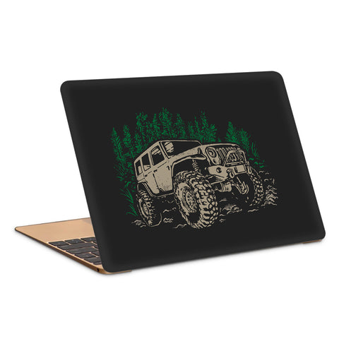 Adventure Jeep Travel Artwork Laptop Skin