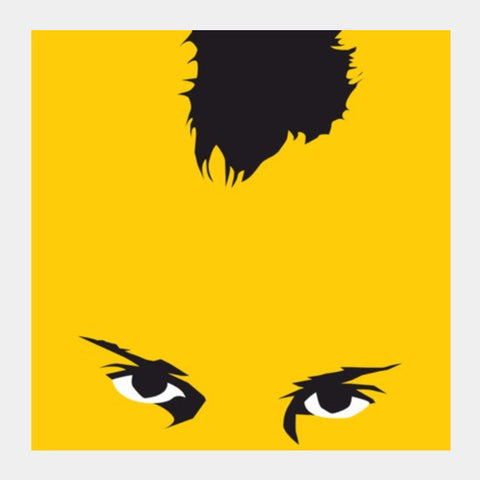 Square Art Prints, taxi driver yellow Square Art Prints | Artist : Aniket Trivedi, - PosterGully