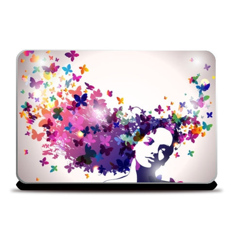 butterfly art Laptop Skins | Artist : Fariya Arts