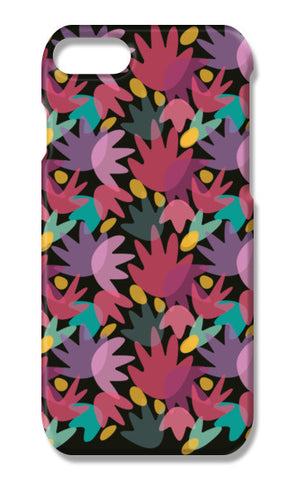PINK FLORAL iPhone 7 Cases | Artist : looshmoosh