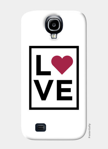 Love Samsung S4 Cases | Artist : Abhishek Bhardwaj