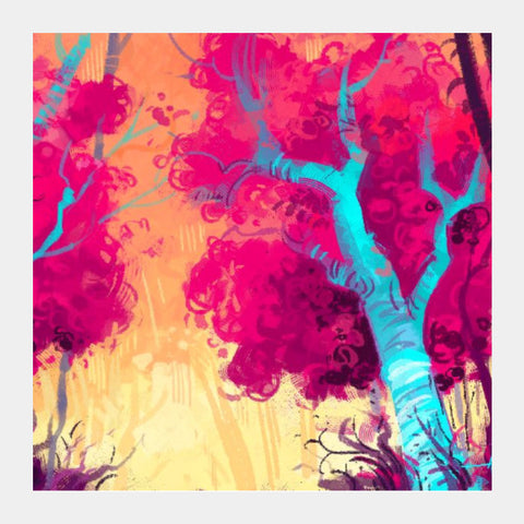 Square Art Prints, Candy Forest Square Art | Artist: Aniruddha Lele, - PosterGully