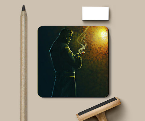Coasters, Thinking Coaster | Artist: Rishi Singh, - PosterGully