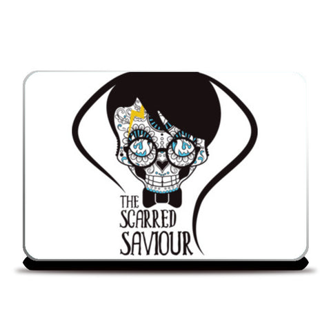 The Scarred Saviour-Harry Potter Laptop Skins | Artist : Abhay Sigh Sengar