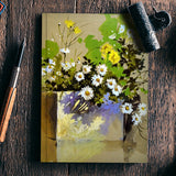 Flower Still Life Notebook | Artist : Rahul Tanwar