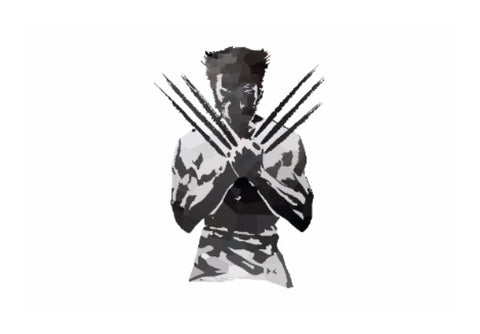 Wall Art, Low Poly Wolverine Wall Art | Artist: Darshan Gajara, - PosterGully