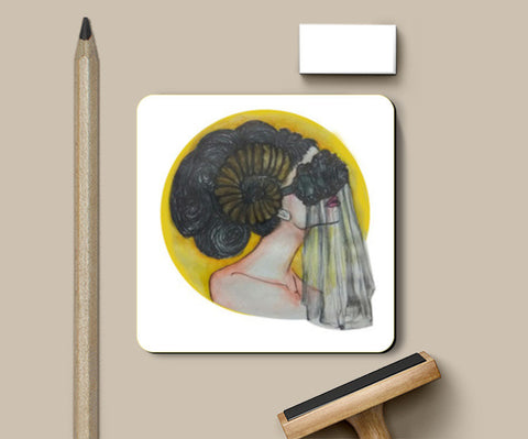 PosterGully Coasters, ARIES Coasters | Artist : Sristi Patra, - PosterGully