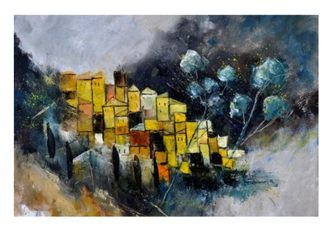 Abstract Tuscany Landscape  Wall Art  | Artist : pol ledent