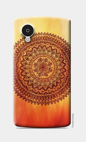 Fiery Mandala Nexus 5 Cases | Artist : Susrita Samantaray