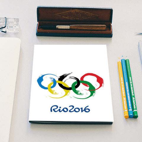 rio olympics 2016 notebook Notebook | Artist : Nihal Dad Khan