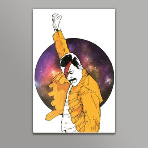 Under Pressure Metal Prints | Artist : Pop Goes The Easel
