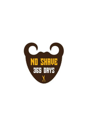 PosterGully Specials, Mustache and Beard No Shave Wall Art | Artist : Mani Selvam, - PosterGully