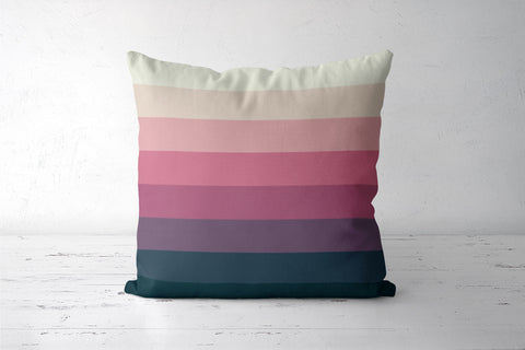 Peach Dusk Cushion Covers | Artist : Aditya Golechha