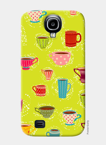 Samsung S4 Cases, English Tea Cup Samsung S4 Cases | Artist : Pratyusha Subramaniam, - PosterGully