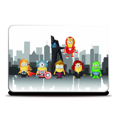 Laptop Skins, Minion Avengers Laptop Skin | Artist: Ronak Mantri, - PosterGully