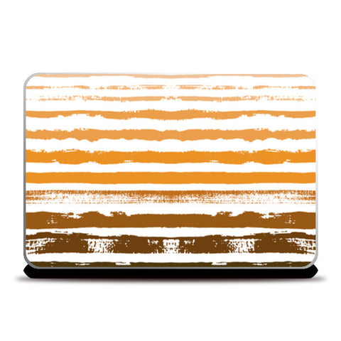 Uneven Stripes Laptop Skins | Artist : Amantrika Saraogi