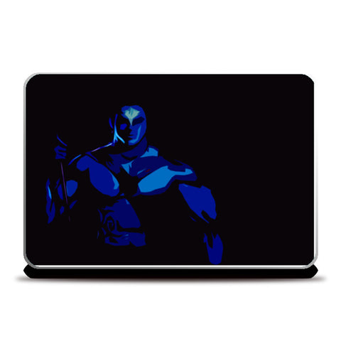 low poly shiva Laptop Skins | Artist : Aakarsh Sharma