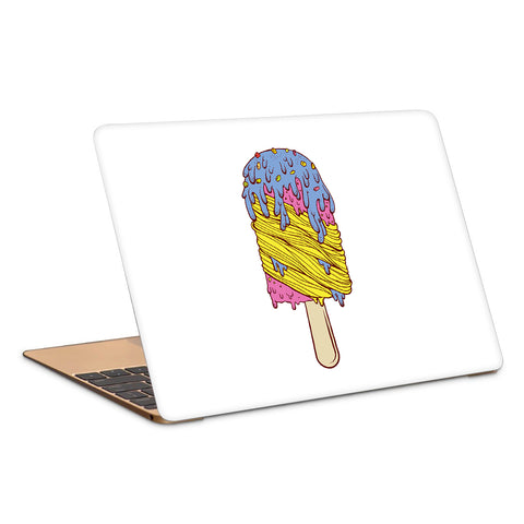 Melting Icecream Artwork Laptop Skin