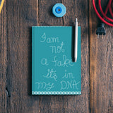 I am not a fake Notebook | Artist : Pallavi Rawal