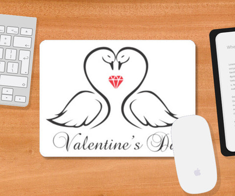 Mousepad, Valentine's Day Mousepad | Artist : Delusion, - PosterGully