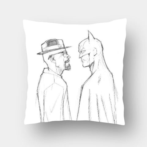 Cushion Covers, Breaking Batman Cushion Cover | Artist: Pankaj Lewarikar, - PosterGully