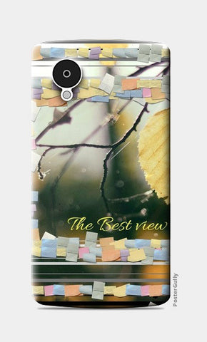 The Best View Is Inside You Nexus 5 Cases | Artist : Pallavi Rawal