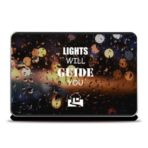 Laptop Skins, Lights will guide you home | Coldplay Laptop Skins | Artist : Sarbani Mookherjee, - PosterGully