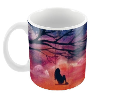 Sunset Coffee Mugs | Artist : Sukanya Chakraborty