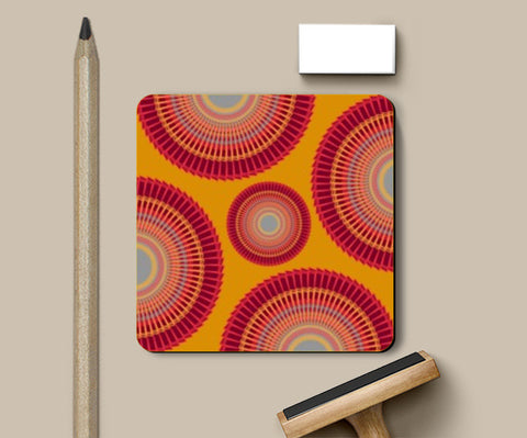 Coasters, Decorative Circle Design Coasters | Artist : Seema Hooda, - PosterGully