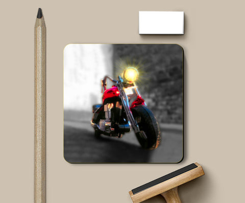 Coasters, Boy Toy Bikes Coasters | Artist : Pranit Jaiswal, - PosterGully