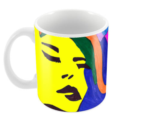 Beauty Beheld mug Coffee Mugs | Artist : Anjuri Jain