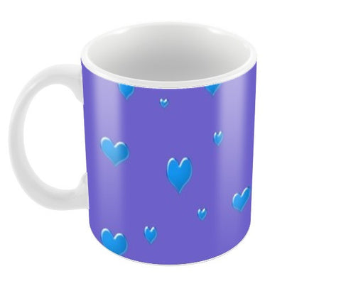 Bubble heart Coffee Mugs | Artist : Pallavi Rawal