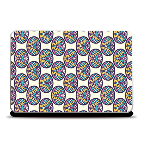 Unique Shape Pattern Print Laptop Skins | Artist : Creative DJ