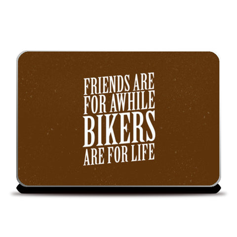 Laptop Skins, Bikers For Life Laptop Skins | Artist : Throttlerz Group, - PosterGully