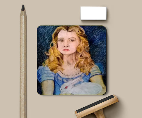 Alice in Wonderland Coasters | Artist : Papo Mukherjee
