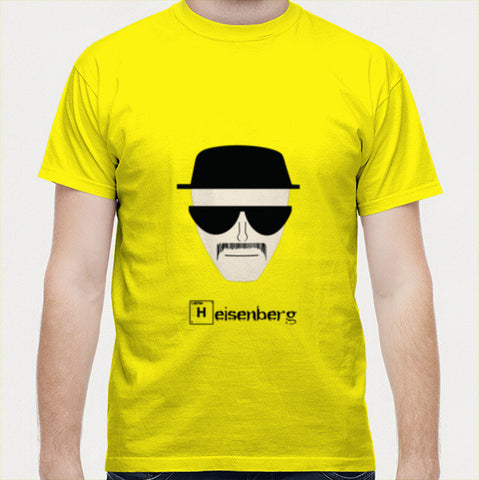 Heisenberg Breaking Bad Men T Shirts | Artist : Nihal Dad Khan