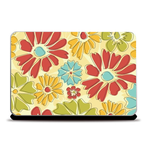 Flora Laptop Skins | Artist : Tiny Dots