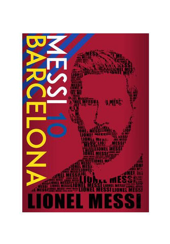 PosterGully Specials, Messi | Barcelona Color Variant Wall Art | Artist : Vivid Corner, - PosterGully