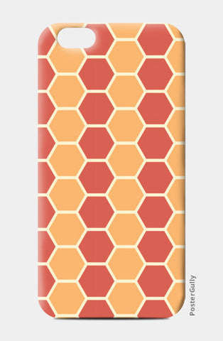 Hexagonal tiling pattern iPhone 6/6S Cases | Artist : Designerchennai