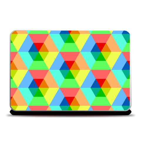 Iconic Box Shapes Laptop Skins | Artist : Creative DJ