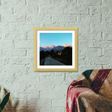 Himachal Travelogue  Premium Square Italian Wooden Frames | Artist : Aakarsh Sharma