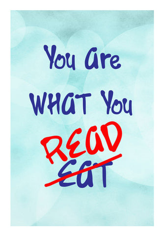 You are what you Read Wall Art | Artist : Surabhi Purwar