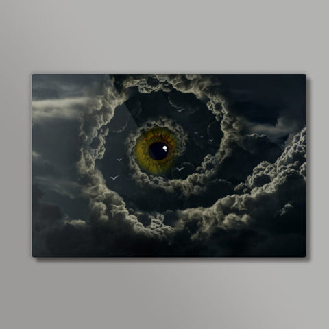 almighty third eye Metal Prints | Artist : Aayush Ranjan