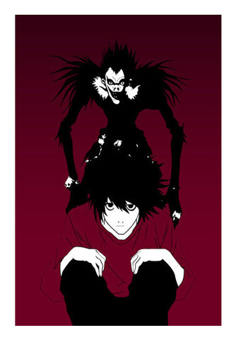 "Death Note ""L"" Art PosterGully Specials"