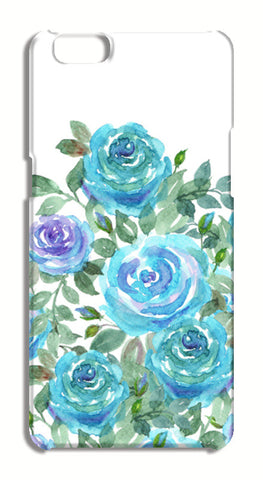 Blooming Blue Roses Watercolor Design  Oppo A57 Cases | Artist : Seema Hooda