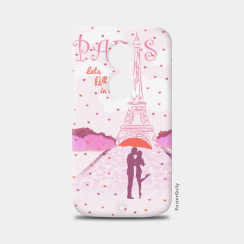 Paris-Fall in Love Moto X2 Cases | Artist : Abhishek Kanungo